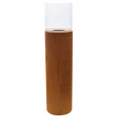 Columns metallic lantern, diameter 24cm